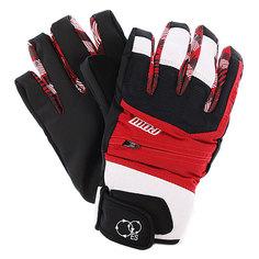Перчатки сноубордические женские Pow Sniper Glove Red