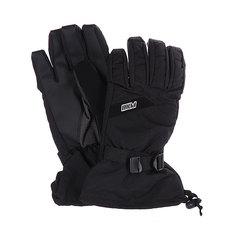 Перчатки сноубордические Pow Long Glove Black