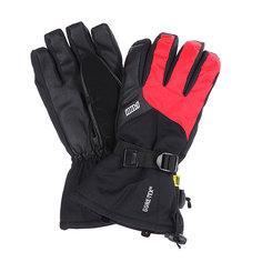 Перчатки сноубордические Pow Long Glove Red