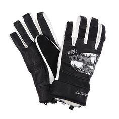 Перчатки сноубордические женские Pow Feva Glove Gtx Black
