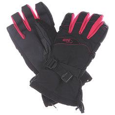 Перчатки сноубордические женские Pow Xg Long Glove Black