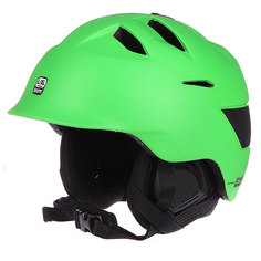 Шлем для сноуборда Bern Kingston Matte Neon Green W/ Black Liner