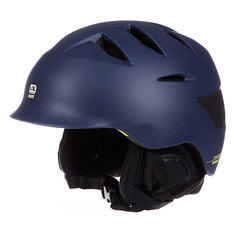 Шлем для сноуборда Bern Rollins Matte Navy Blue W/ Black Liner