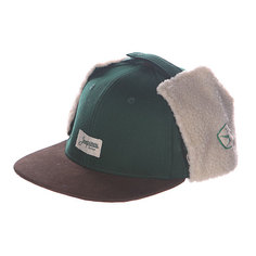 Бейсболка Запорожец Dog-Ears Snapback Patch Green