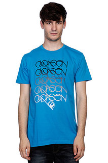 Футболка Dragon Logans Run Sf Tee F10 Turquoise