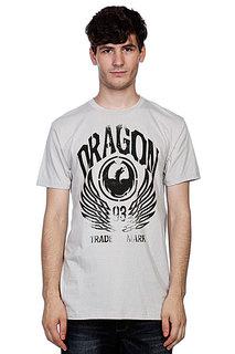 Футболка Dragon Iconic Work Silver Grey