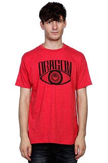 Футболка Dragon All Seeing Eye Red Heather