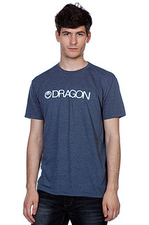 Футболка Dragon Trademark F12 Indigo Heather