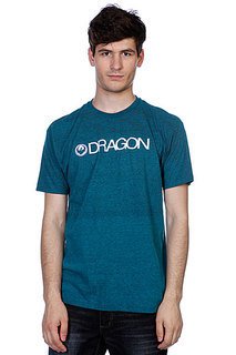 Футболка Dragon Trademark F12 Cyan Heather