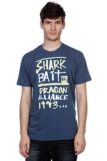 Футболка Dragon Shark Bait Tee 3 Slim F12 Indigo Heather