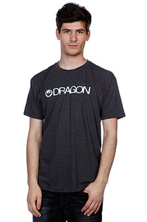 Футболка Dragon Trademark F12 Charcoal Heather
