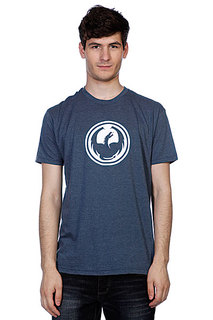 Футболка Dragon Icon Slim F12 Indigo Heather