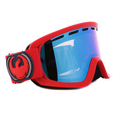 Маска Dragon D2 Frame Team Spirit Lens Blue Steel + Yellow Blue Ionized