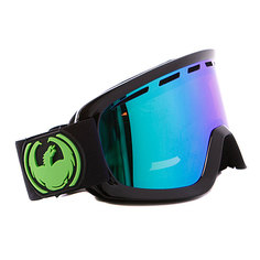 Маска Dragon D2 Frame Jet Lens Green Ionized + Yellow Blue Ionized