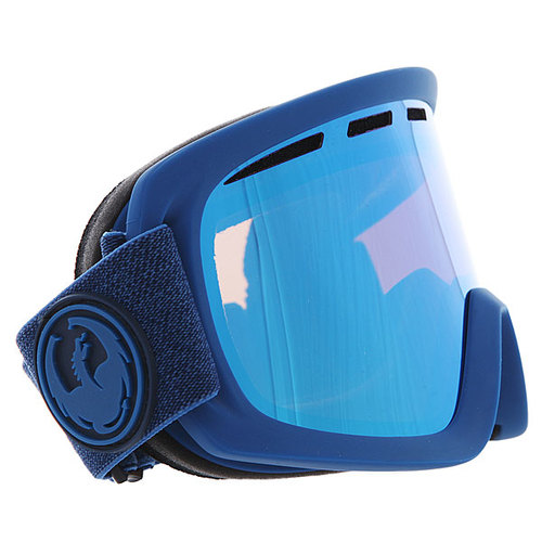 Маска для сноуборда Dragon D1 Ultra Marine Heath/Blue Steel
