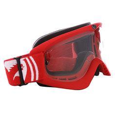 Маска Dragon MDX-L Red/Clear Aft