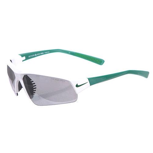Очки Nike Skylon Ace Pro Grey W/ Silver Flash Lens White/Pine Green