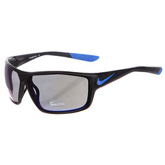 Очки Nike Ignition R Matte Black/Game Royal Grey W/Blue Night Flash Lens