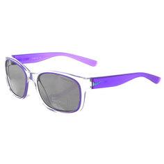 Очки женские Nike Spirit Clear/Hyper Grape Grey W/Silver Flash Lens