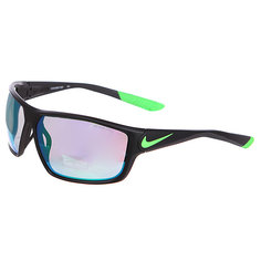 Очки Nike Ignition R Matte Black/Poison Green/Grey W/Ml Green Flash Lens