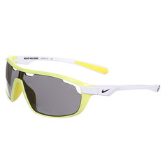 Очки Nike Road Machine Grey Lens Electric Yellow/White