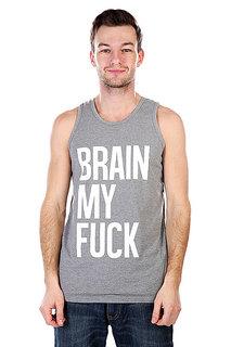 Майка TrueSpin Brain My Fuck Gray