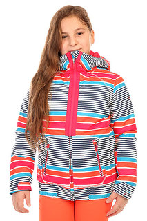 Куртка утепленная детская Roxy Valle Hood G Jk Sail Away Azalea