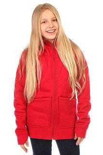 Толстовка сноубордическая детская Burton Journey Flc Chili Pepper Heather
