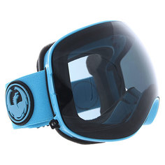 Маска для сноуборда Dragon X2 Blue/Dark Smoke + Yellow/Blue Ion