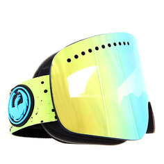 Маска для сноуборда Dragon NFX Splatt/Smoke Gold + Yellow Blue
