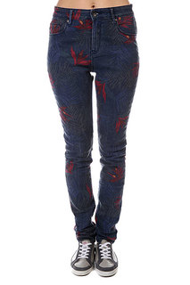 Штаны женские Roxy Suntrip Hw Pri J Pant Midnight Palm Option