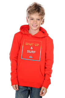 Кенгуру детское Quiksilver Hood Shut Up Youth Poinciana