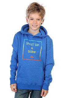 Кенгуру детское Quiksilver Hood Shut Up Youth Victoria Blue