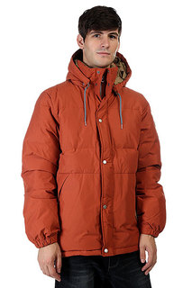 Пуховик Quiksilver Alec Down Baked Clay