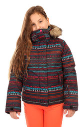 Куртка утепленная детская Roxy Jet Ski Girl Jk G Snjt Geo Stripe