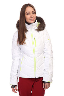 Куртка женская Roxy Snowstorm Bright White