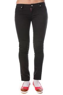 Джинсы узкие женские Ezekiel Tori Skinny Pants Black