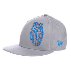 Бейсболка New Era детская Grenade Youth NewEra Skullbomb Master Gray