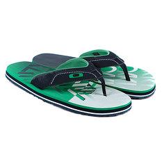 Шлепанцы Oakley O-Strap Green