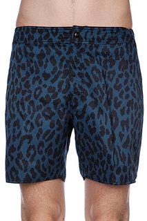 Пляжные мужские шорты Stussy Wildlife Trunk Short Dark Royal