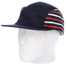 Бейсболка Undefeated Stripe Camp Cap Blue