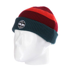 Шапка Nootknoot Acorn Beanie Virdis/Brick Red/Orange