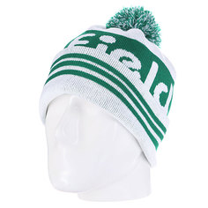 Шапка с помпоном Penfield Sanford/Logo Bobble Beanie Green