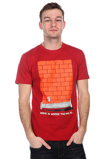 Футболка Nootknoot Wall Tee Brick Red