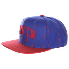 Бейсболка Brixton Arden Ii Snap Back Blue/Red