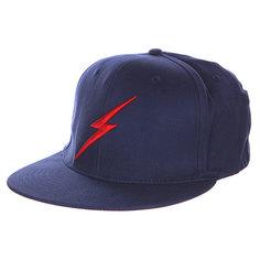 Бейсболка с прямым козырьком Lightning Bolt Bold Ii Insignia Blue