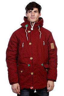 Куртка парка True Spin Alaska Jacket Burgundy/Native