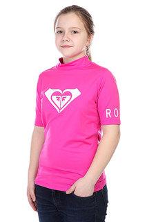 Гидрофутболка детская Roxy Lycra Contest Roxy Pink