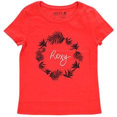 Футболка детская Roxy Little basic tee Bright Pink