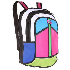 Рюкзак городской Jump from paper 2D Backpack Multicolor